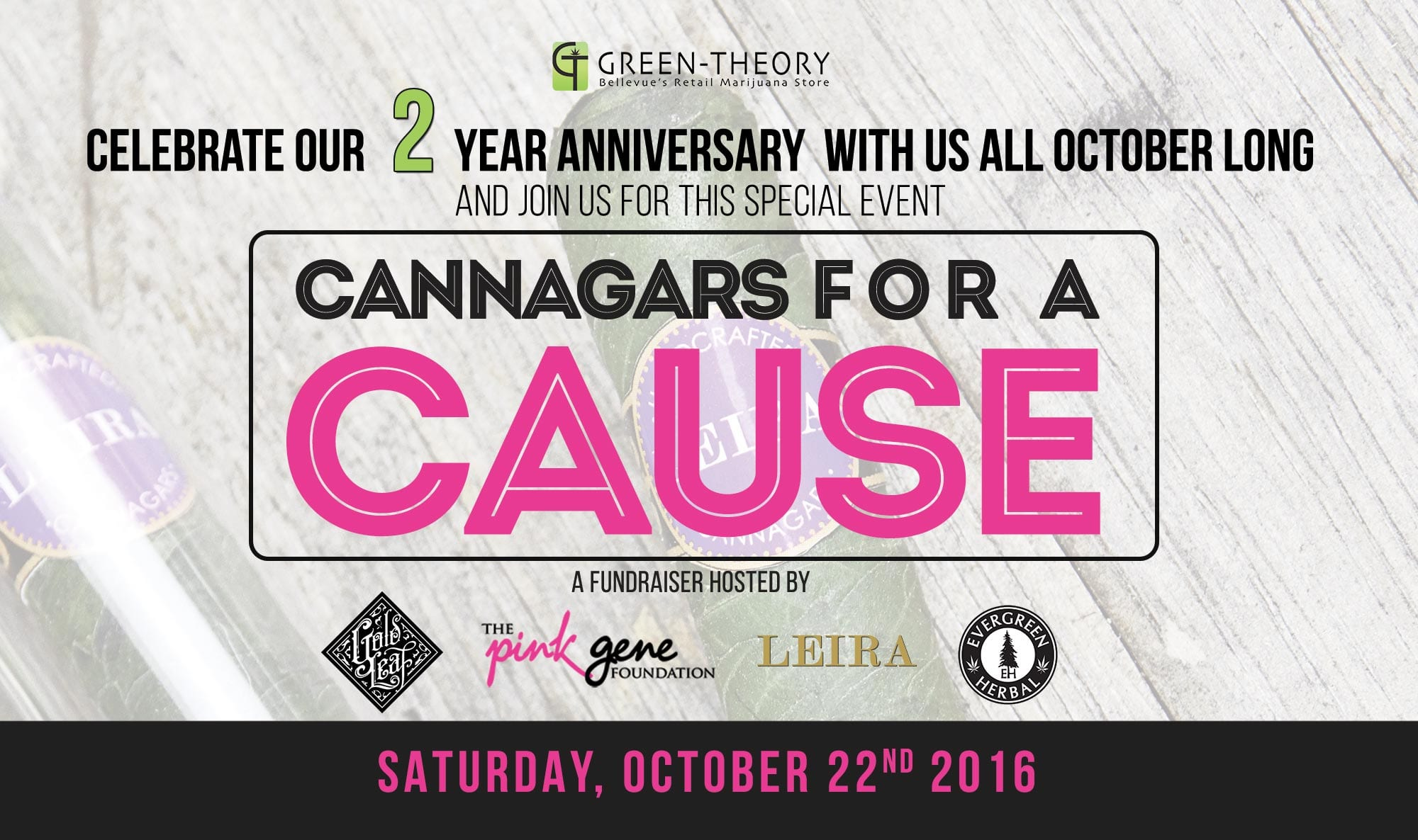 Cannagar Fundraiser from Green-Theory helping raise for a great cause