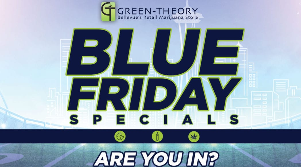 Green-Theory Blue Friday specials on cannabis products